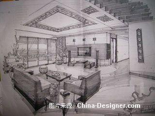 中式,肖老师-陈娇的设计师家园-中式
