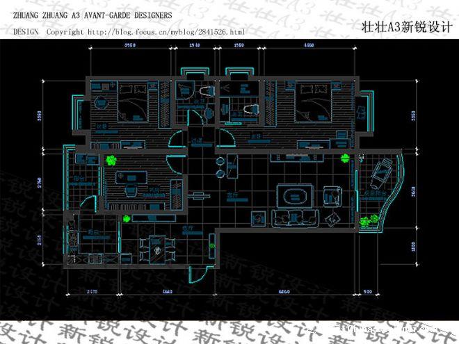硬装9.8万106�O三居室美居实景-与光同尘-精彩呈现-由伟壮的设计师家园-现代简约,5-10万,三居,白色,现代