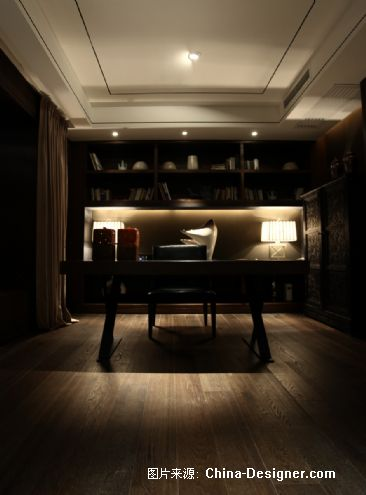 招商地产-江湾城样板间-谢柯的设计师家园-现代中式