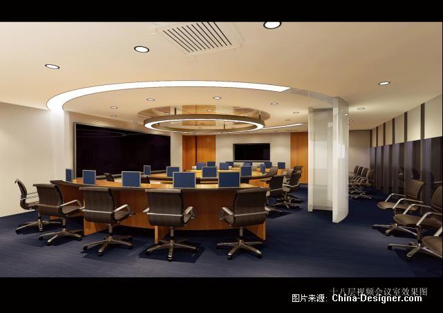 张杨路25号大楼室内装饰工程-周诗晔的设计师家园-金堂奖2010China-Designer中国室内设计年度评选,现代