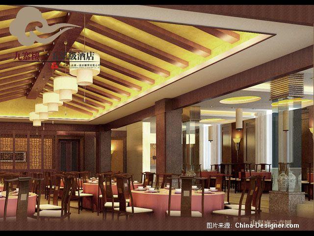 五星级酒店九寨楼-李剑的设计师家园-黄色,中式