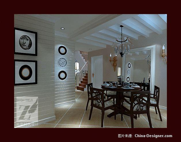 西山阳光自由居-王跃飞的设计师家园-20-30万,三居,白色,酷家,田园