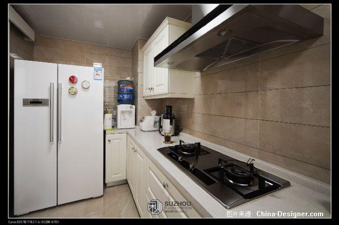宁静的港湾-潘锦秋的设计师家园-混搭,现代,白色,三居,50-100万