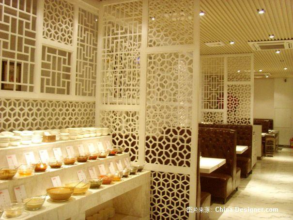 专业餐饮酒店设计师-杨玉龙作品《海捞坊时尚火锅餐厅》-杨玉龙的设计师家园-现代简约,新中式,火锅店,温馨,白色