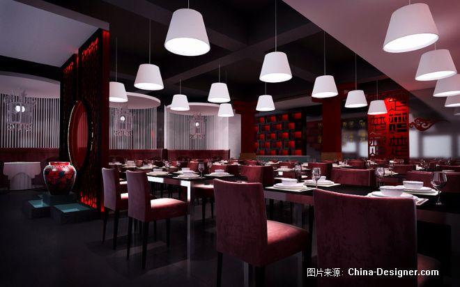 楚湘园中餐厅-尹康明的设计师家园-中餐厅/中餐馆,现代,新中式