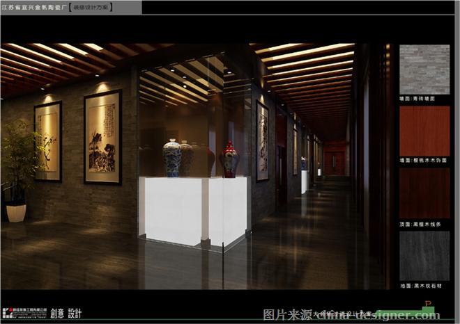 宜兴金帆陶瓷厂-丁飞的设计师家园-中式,现代,工厂厂房