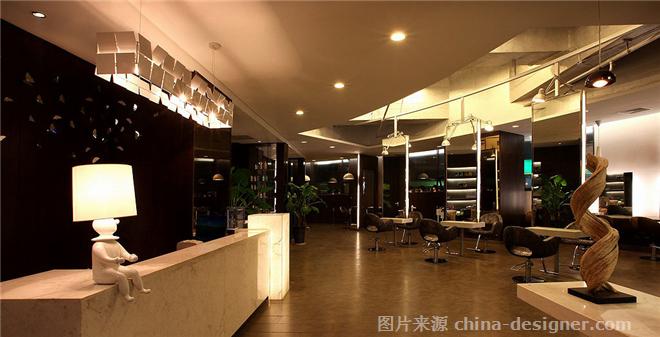 孔雀王朝美丽汇一店-刘志的设计师家园-现代简约,沉稳庄重,工业化,美发