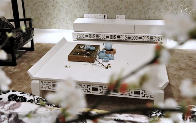 优雅中式休闲风-夏伟的设计师家园-卧室