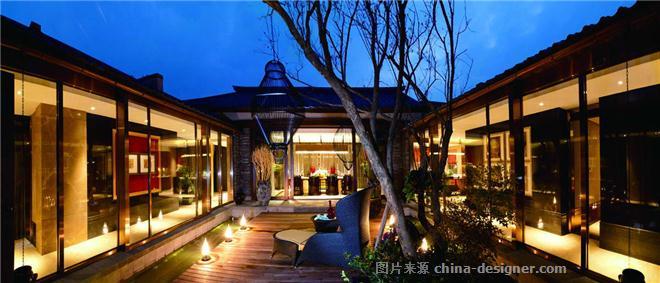 成都中国会馆A型样板间-周勇的设计师家园-新中式,别墅样板间