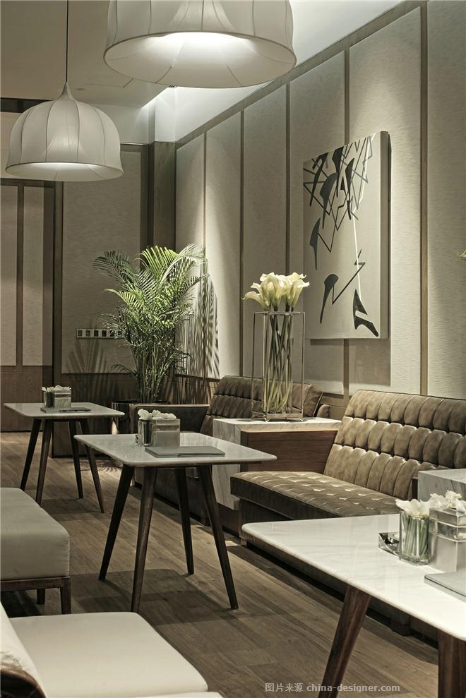 招商置地-长嘉汇销售中心-谢柯的设计师家园-欧式,现代,住宅公寓售楼处