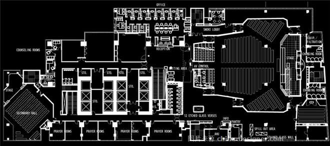 港福堂-洪约瑟的设计师家园-教堂