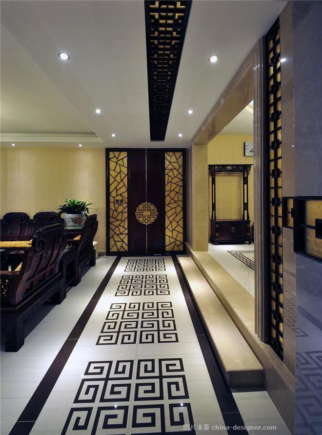 东方流韵-王红的设计师家园-沉稳庄重,混搭,新中式