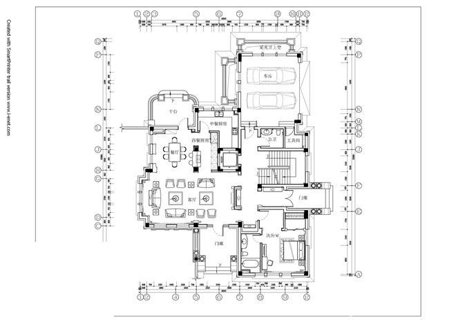 蓝天玫瑰园A-孙洪涛的设计师家园-住宅公寓样板间