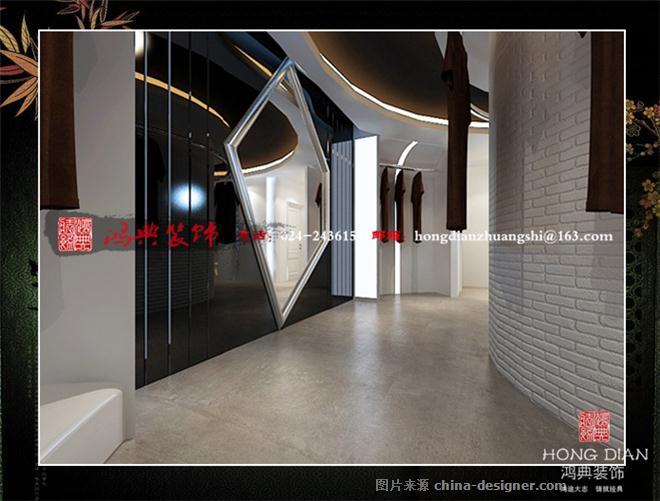 服装店-亢敏的设计师家园-现代,服装店