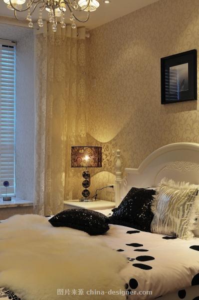 太湖国际社区-陈天宝的设计师家园-现代,卧室