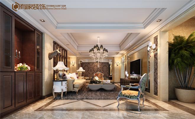 有家装饰·泰禾红峪 在建工地-福州有家装饰工程有限公司的设计师家园-现代欧式,客厅,三居