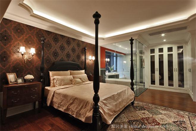 红韵悠长--浪琴半岛花园B-郑鸿的设计师家园-现代简约,古典欧式