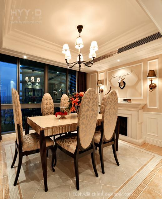 情暖滨江--红树西岸复式-郑鸿的设计师家园-简欧风格,复式