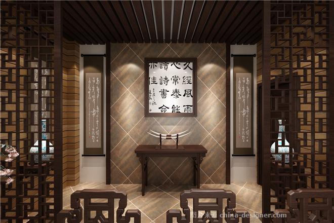 金铭仕茶楼-伍和平的设计师家园-新中式,茶室/茶馆/茶社