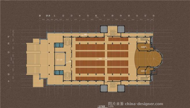 江苏宿迁天主教堂-方赛文的设计师家园-教堂