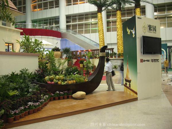 海口紫园房展会展示设计-许洪的设计师家园-现代简约,展览空间
