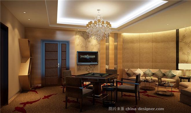 绵竹别墅私人会所-李小刚的设计师家园-新中式,庄园,独栋别墅