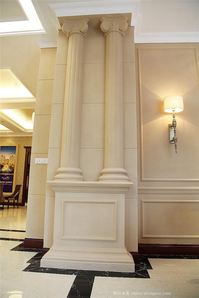 围海。 海洲一品-徐波的设计师家园-现代欧式,住宅公寓售楼处