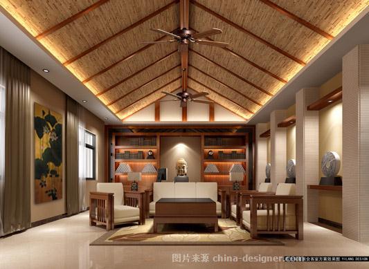 三亚南山寺接待中心-海南艺廊装饰设计工程有限公司的设计师家园-新中式,度假酒店