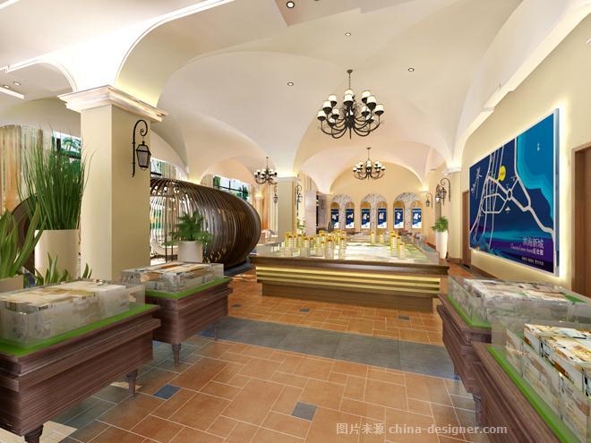 万宁弗拉明戈・屿海售楼处室内设计-海南原语设计咨询有限公司的设计师家园-现代欧式,住宅公寓售楼处