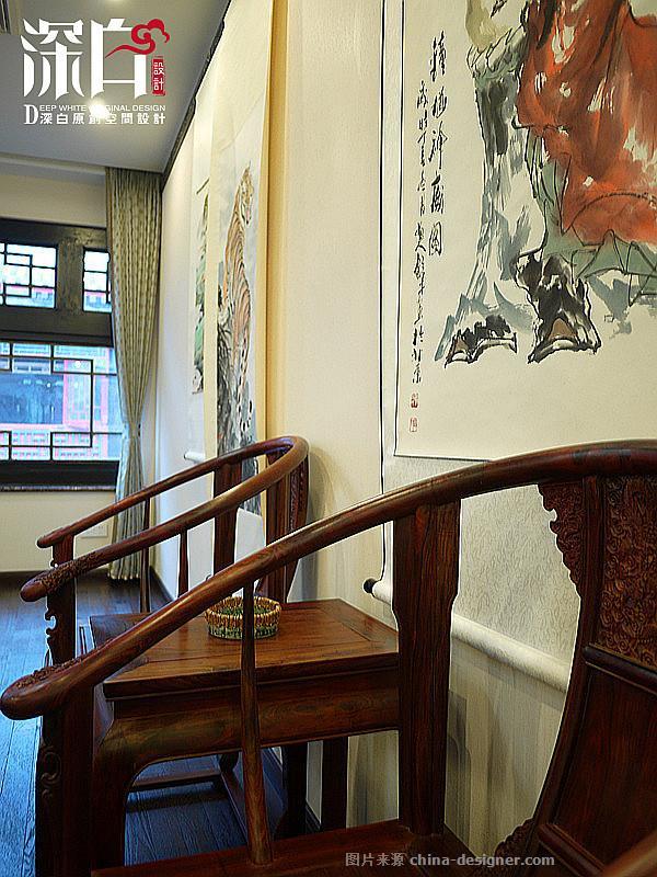 玄圃书院-李凯的设计师家园-新中式,展览空间
