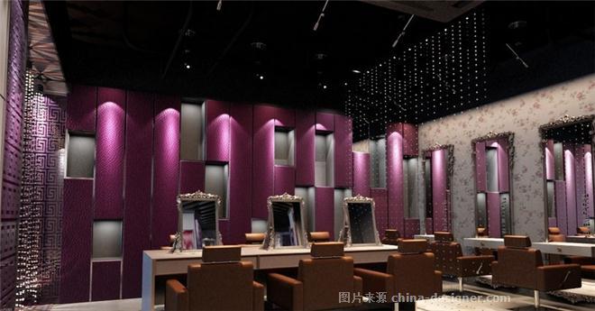 名爵理发店-成都大妙装饰公司的设计师家园-理发店装修 成都装修 成都理发店装修