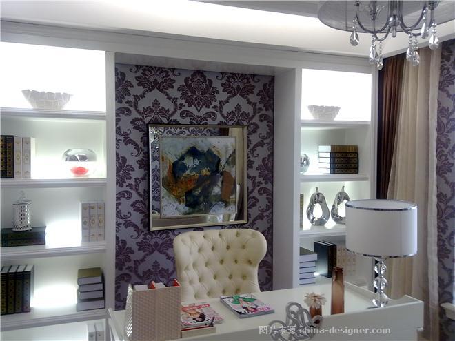 山西太原---简欧样板间设计方案-孔令军的设计师家园-现代欧式,住宅公寓样板间