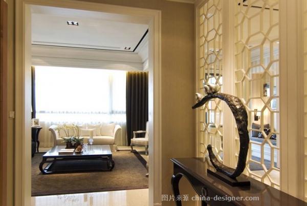 浅英伦-陈天宝的设计师家园-现代欧式,四居及以上