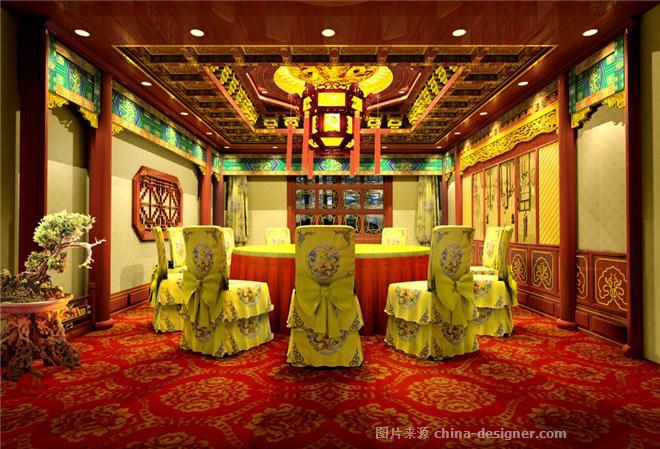 国家级银奖--中式概念元素设计-张东宝的设计师家园-500元以上,中餐厅/中餐馆