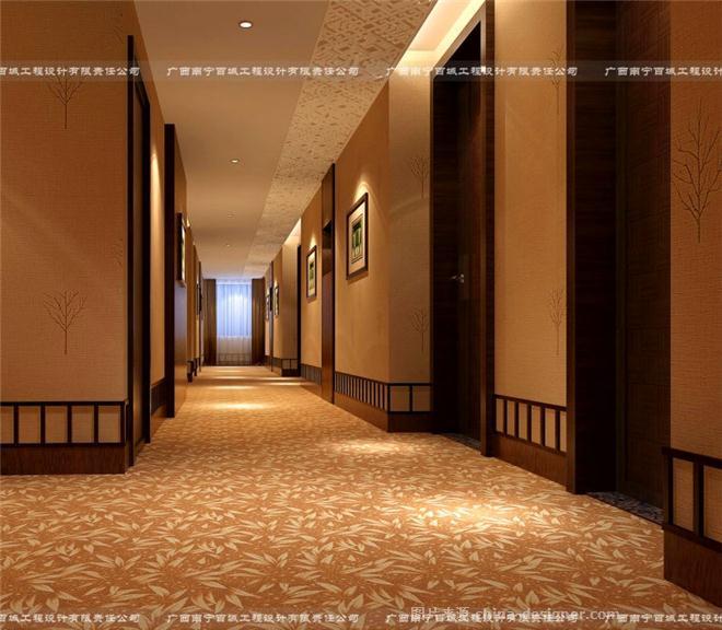 美航国际大酒店(四星级)-刘柱华的设计师家园-新中式,商务酒店