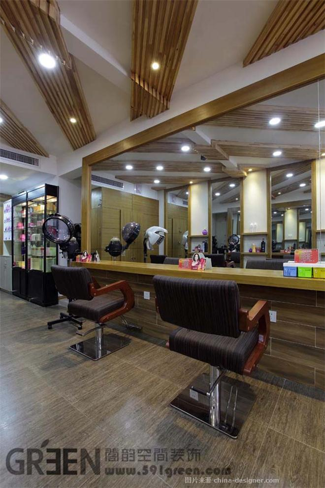 随型工坊美发沙龙分店-上海阁韵空间装饰的设计师家园-现代简约,美发