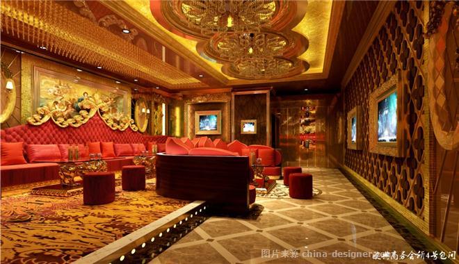 大丰欧典商务会所-四川昂渤装饰设计有限公司的设计师家园-娱乐会所,新古典主义