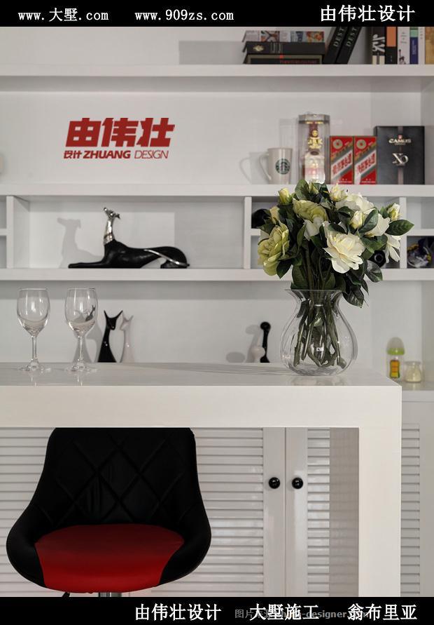 由伟壮设计200�O打造阳光复式现代简约家-由伟壮的设计师家园-现代简约,大墅施工,由伟壮设计