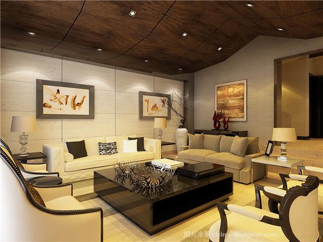 金海岸-吴丹的设计师家园-新中式,现代简约,独栋别墅