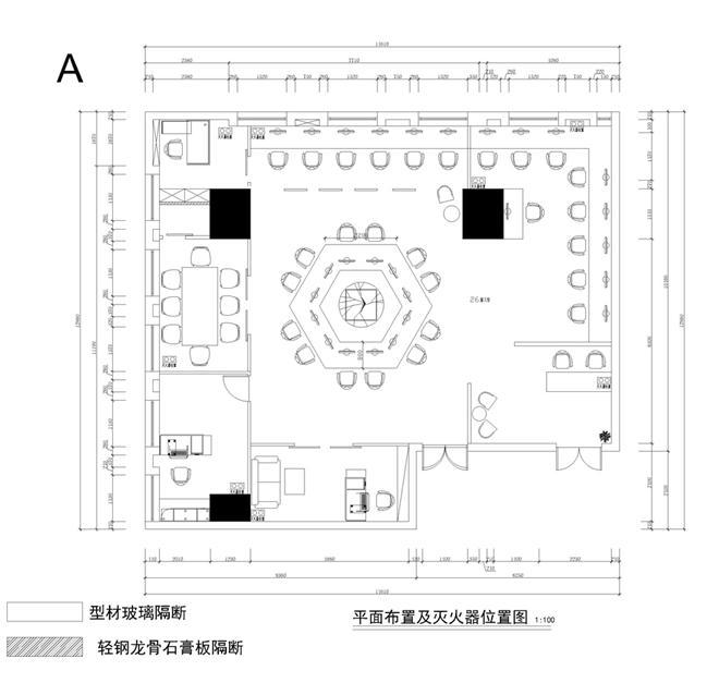 辽宁北软办公空间设计-郑柏松的设计师家园-财务室
