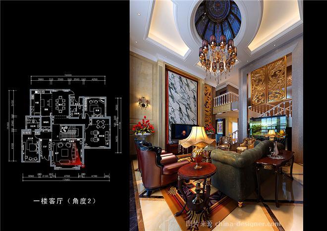 东方金典别墅-万泉智的设计师家园-联排别墅