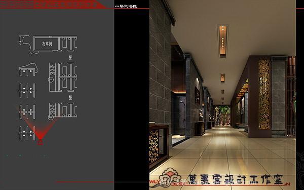 焦作七贤山庄-万泉智的设计师家园-洗浴