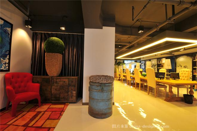 苏荷中心  创意办公样板间设计方案-李战强的设计师家园-soho,办公区,走廊,会议室,多功能厅