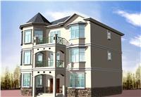 设计师家园-三层别墅图纸带效果图 欧式农村自建房设计