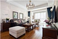 设计师家园-大墅尚品128�O现代美式三居『纯美时光』