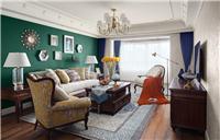 设计师家园-120平美式休闲家・温情满满暖意融融