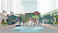 设计师家园-体验式商业街改造设计―常州天鹅湖音乐小镇