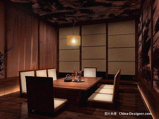 日式餐厅-张波的设计师家园-餐饮酒吧