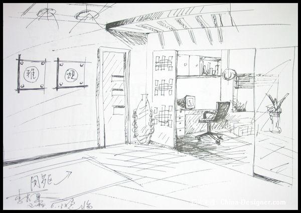 室内写生-青苹果的设计师家园-其他