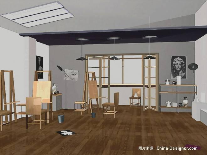 画室-曹宏华的设计师家园-住宅公寓图片